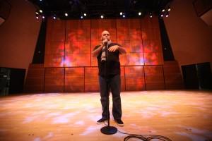 Amer Zahr Performing
